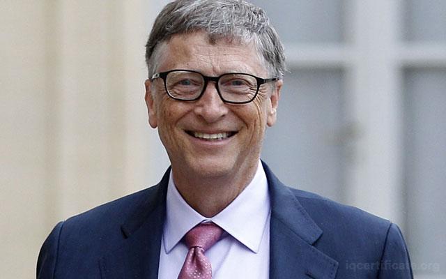 Bill Gates IQ Skoru