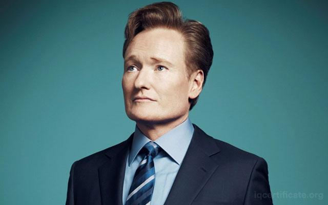 Conan O'Brien IQ Skoru